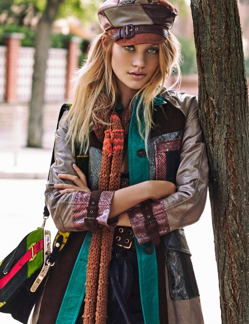Каролина Коринс на страницах ELLE Spain (14 фото)