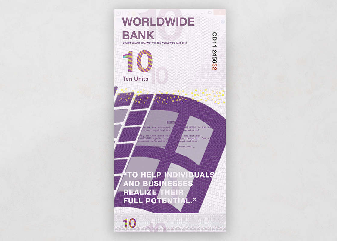 What if the famous brands had their own currencies?