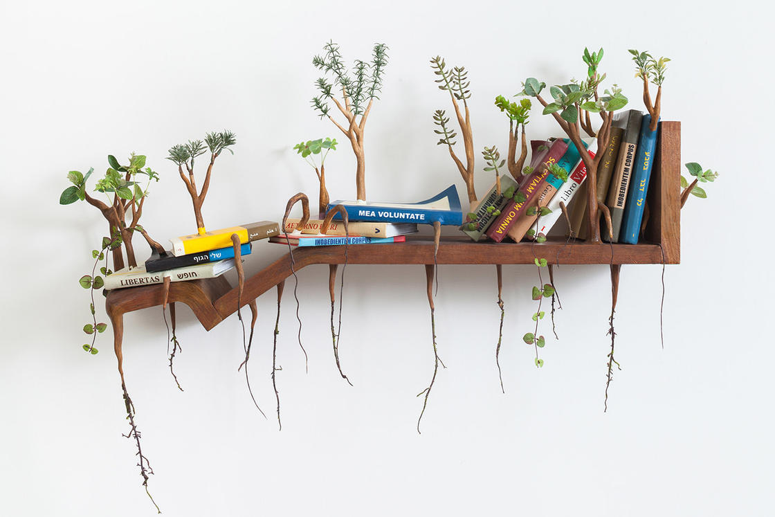Nature takes back its rights with the vegetal objects of Camille Kachani