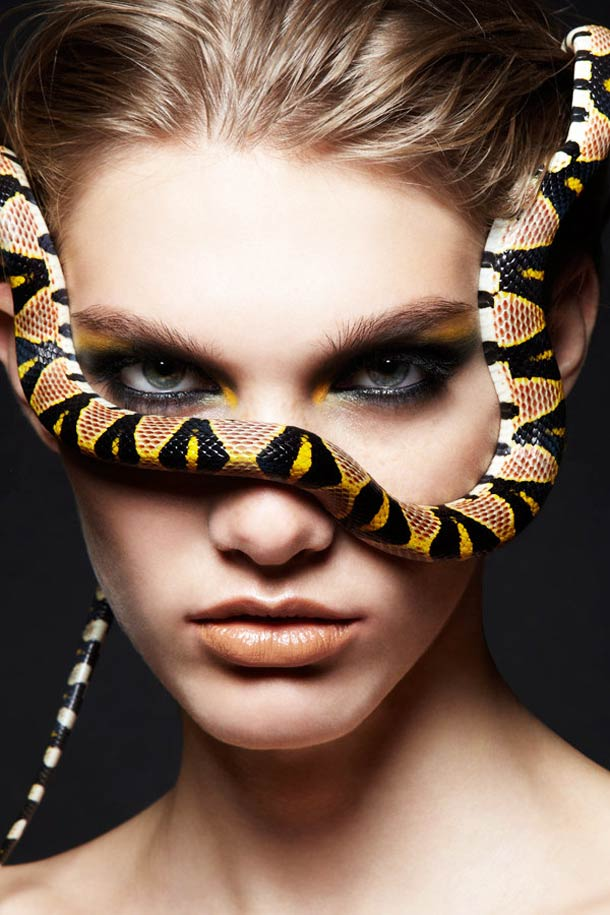Snakes and Girls - Photographs by Alexandra Leroy