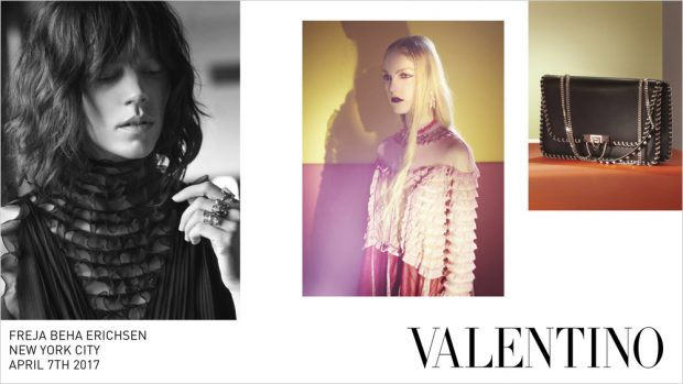 Iman, Freja Beha, Giedre Dukauskaite, Faretta + More for Valentino FW17 (11 pics)