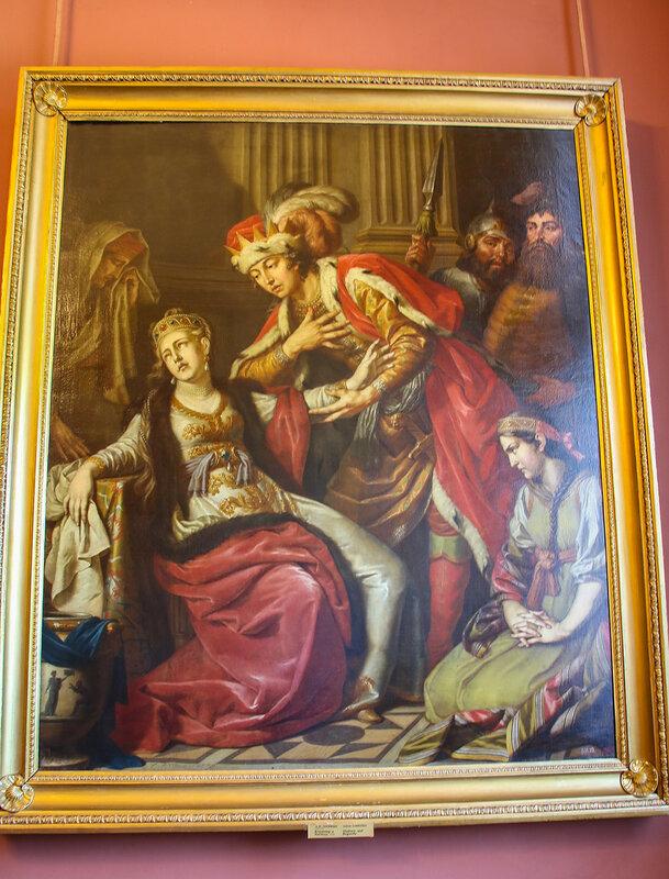 Картина А. Лосенко «Владимир и Рогнеда» (1770г.)