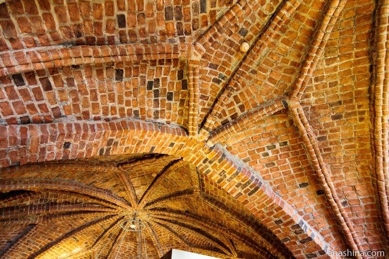 Своды Главного зала, Владычная палата, Великий Новгород