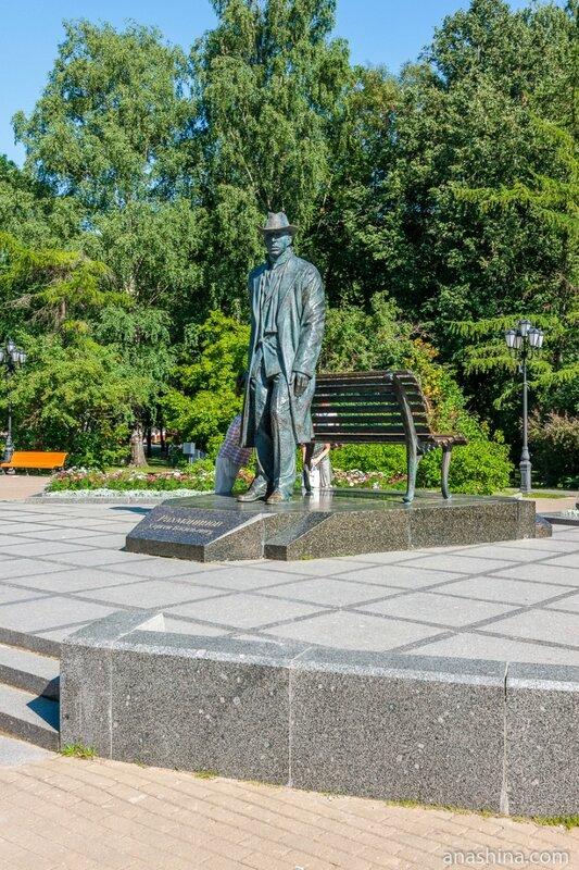 Памятник Рахманинову, Великий Новгород