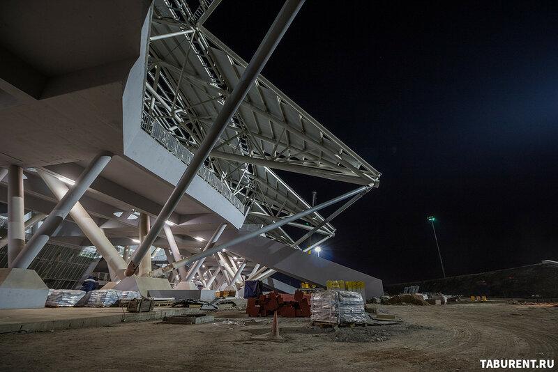 Самара-Арена. Октябрь 2017