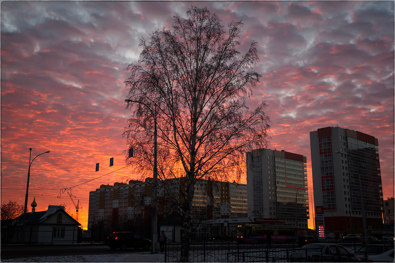 Рассвет на Шахтёров [© NickFW - 01.11.2017]