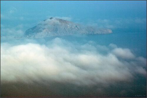 Кийик-Атлама в облаках