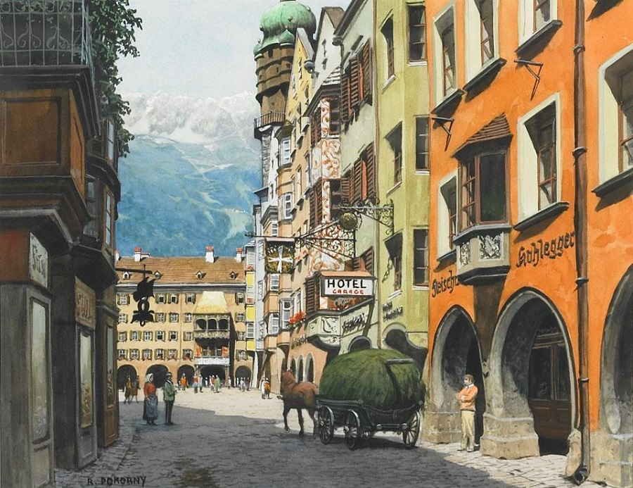 View of the Tyrol.