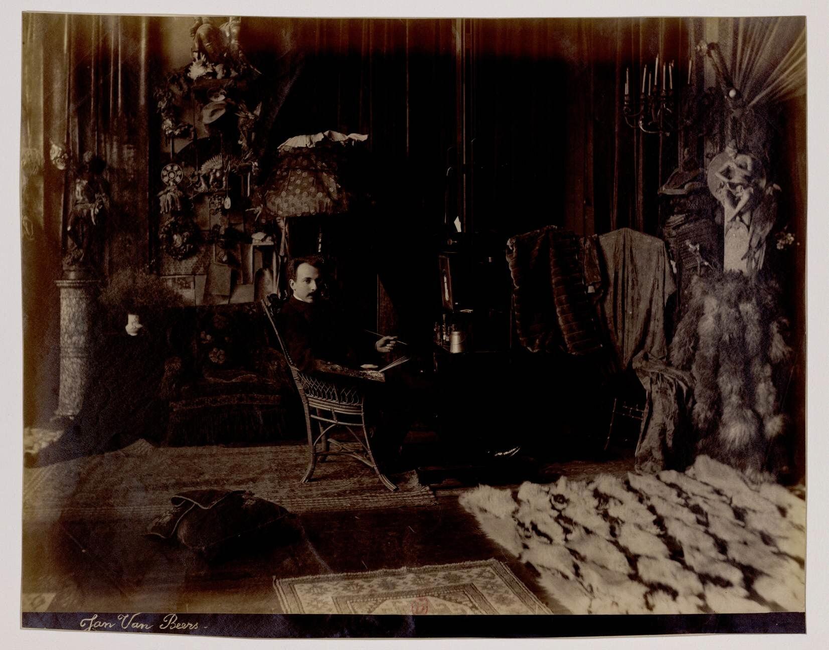 08. Ян ван Беерс (1852-1927)  — бельгийский художник, иллюстратор, карикатурист
