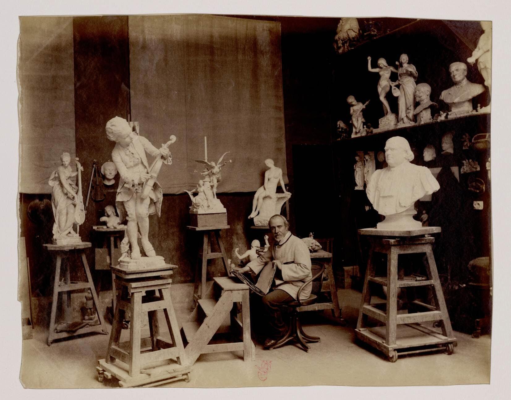 14. Луи-Эрнест Барриа (1841-1905) — французский скульптор Beaux Arts школы