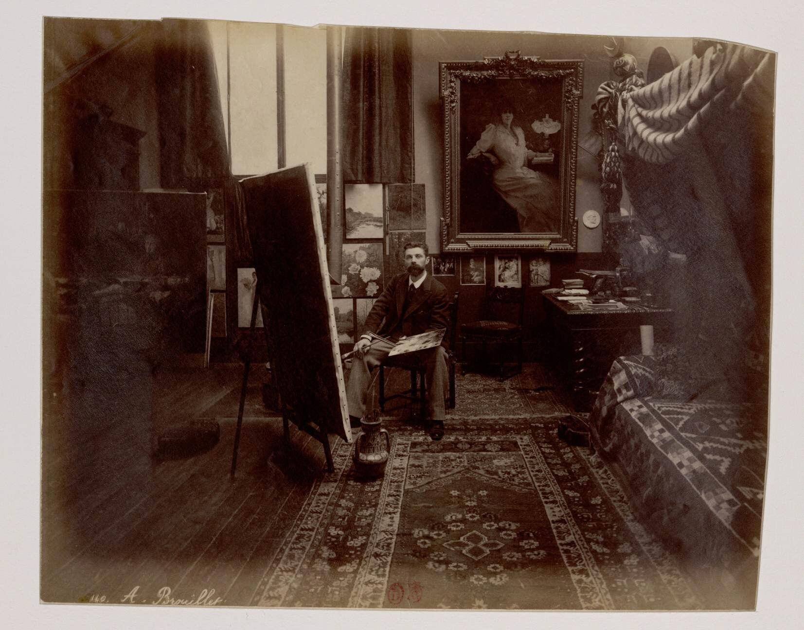12. Пьер Андре Бруилле (1857-1914) - французский художник