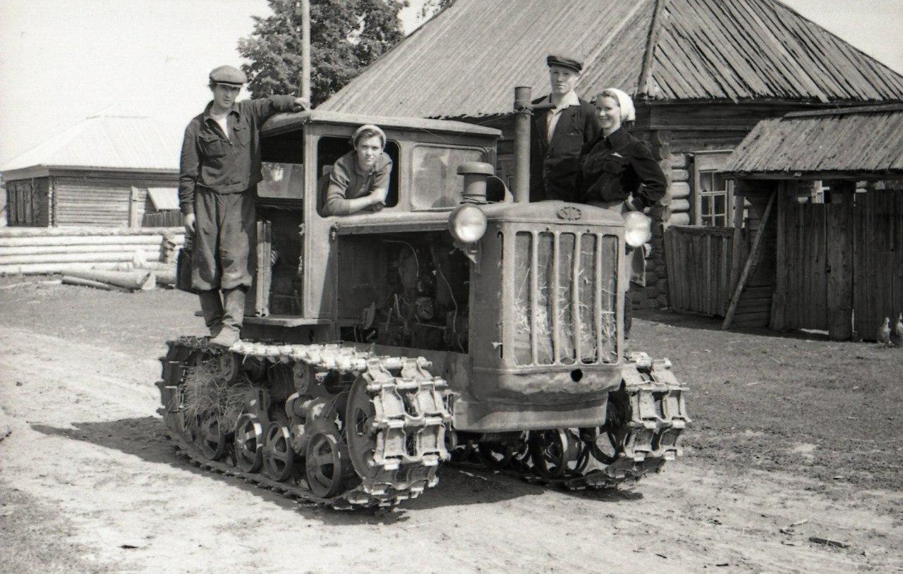 1960. Колхозники с. Полозова