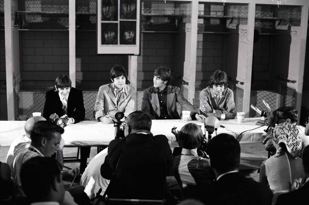 1966. «The Beatles». Пресс-конференция в Вашингтоне