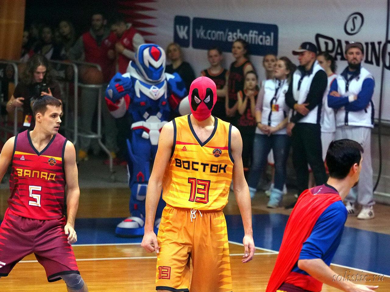 83 Матч звезд АСБ 2018 (ассоциации студенческого баскетбола)