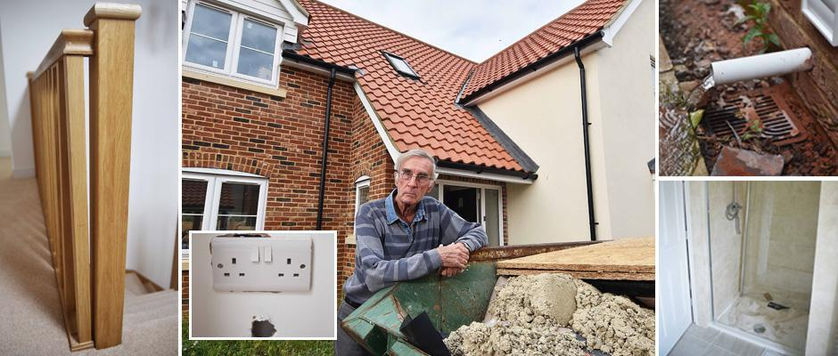 Дедушка купил новый дом мечты за £520 000 и ужаснулся от множества недоделок