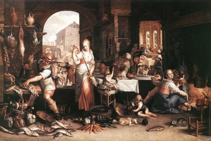 этикет в Средневековье