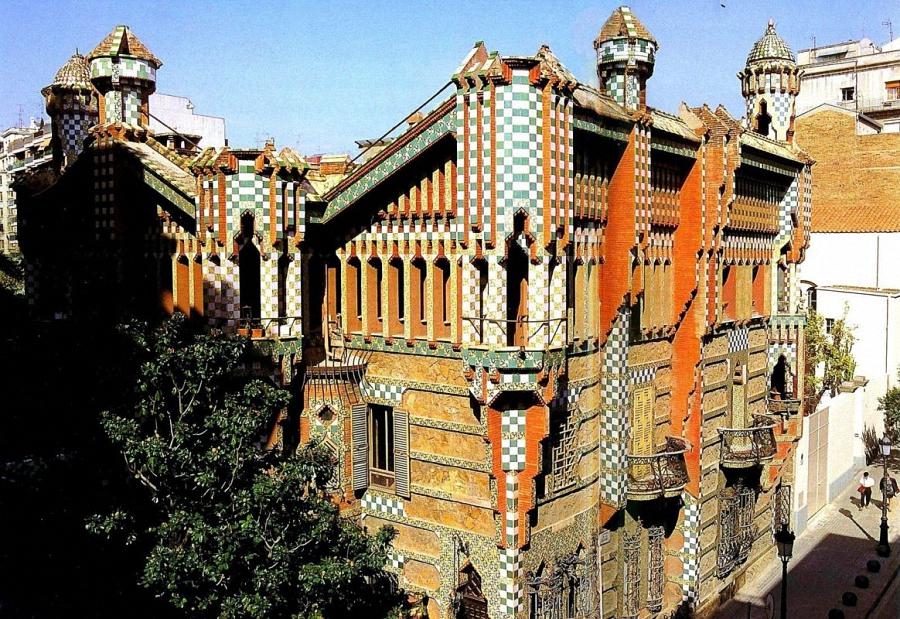 Дом Винсенса (Casa Vicens), творение архитектора Антнио Гауди, принимает посетителей.