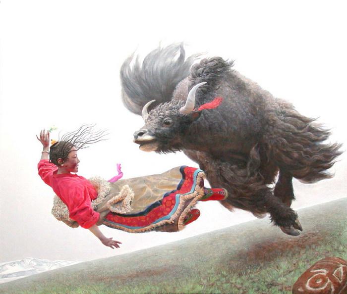 Картины  Wang Yi Guang