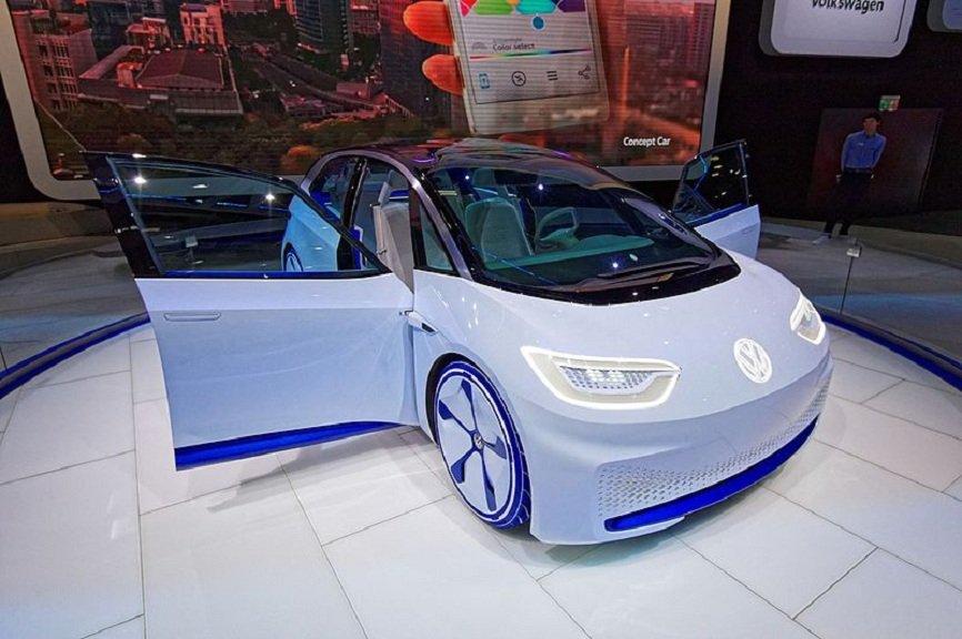 Немецкая компания Volkswagen выпустит электрический хэтчбэк Volkswagen ID