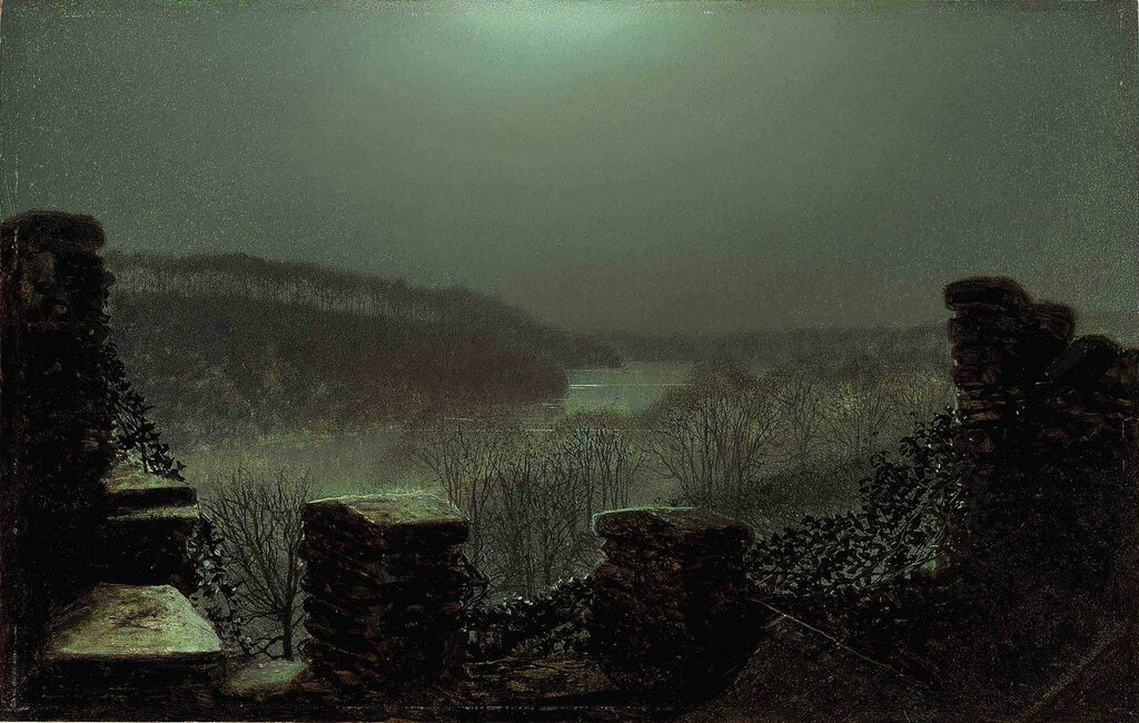 1872_Пейзаж от замка в Раундхэй парке.jpg