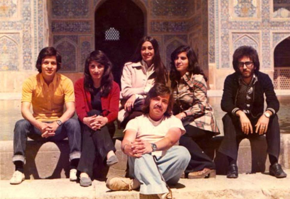 4. Студенты университета в 1970 году. Хотя религиоведение и было популярным предметом, лекции по мат