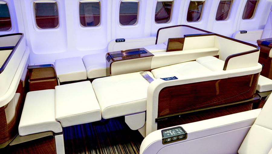 Пассажиры могут заказать себе специальные спа-процедуры и особое меню. К их услугам — личный консьер