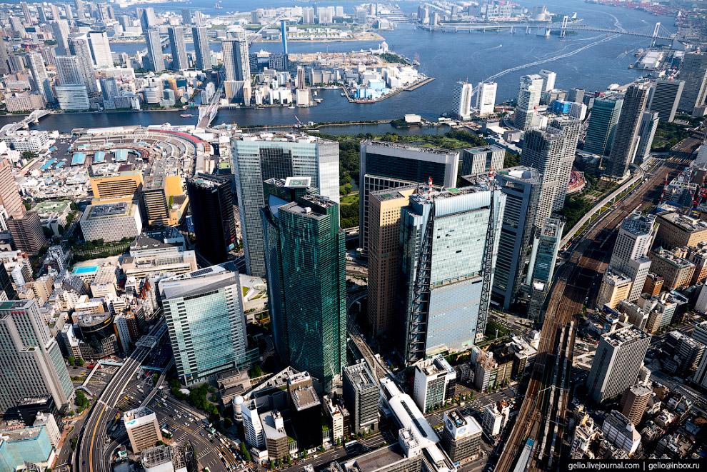 44. Знаменитое своей неправильной геометрической формой 90-метровое  здание AO Building