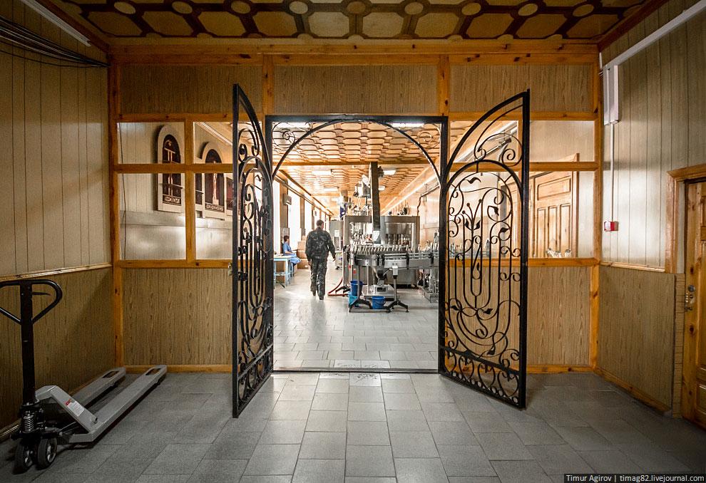 Экскурсия на Кизлярский коньячный завод