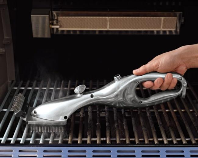 © williams-sonoma     Этот инновационный инструмент использует силу пара для очистки грил