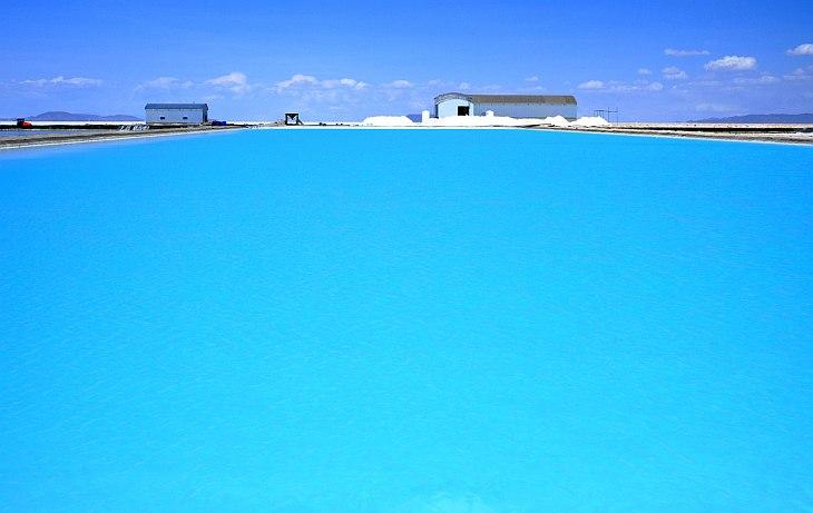 Странная красота соляных шахт (31 фото)