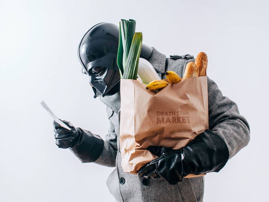 The Daily Life of Darth Vader (12 pics)