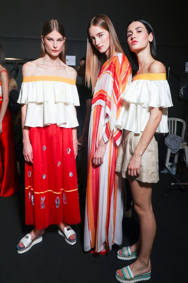 Backstage at VALENTIN YUDASHKIN Spring Summer 2018 Fashion Show