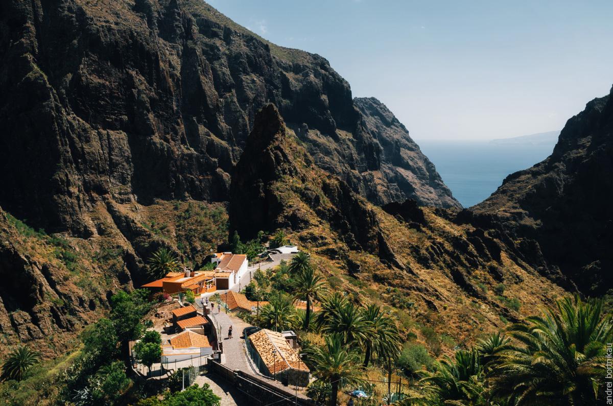 Тенерифе, Канарские острова, Канары. Деревня Маска