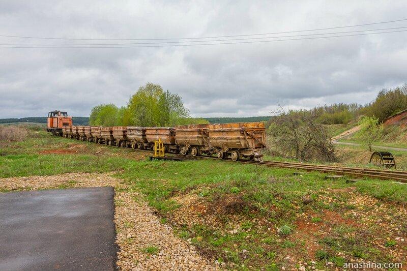 Поезд, Пешелань