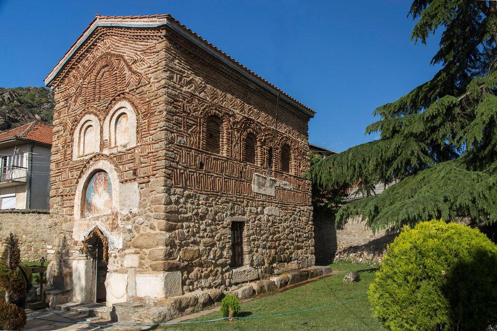 Церковь Святого Николая. Вид с юго-запада.