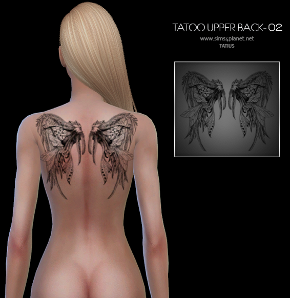 TATIUS. Tattoo Upper Back-02