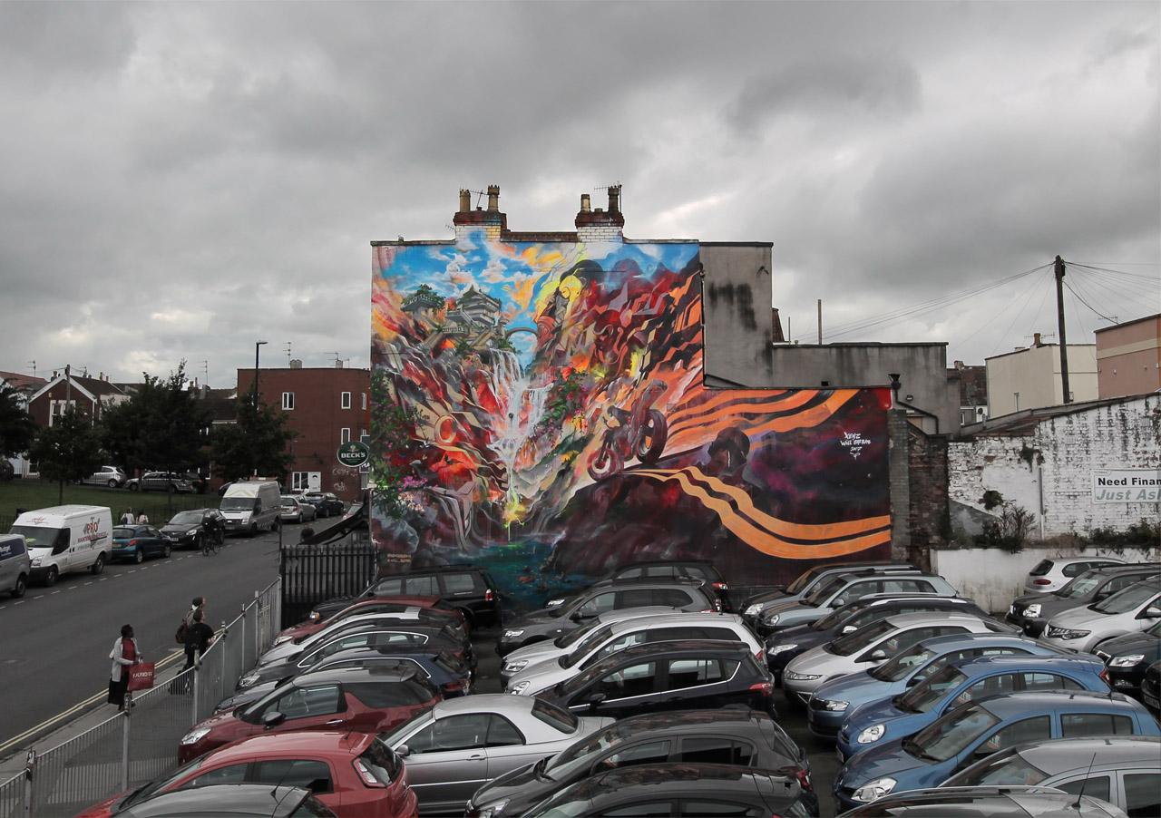 Streets: Upfest 2017 (Bristol)