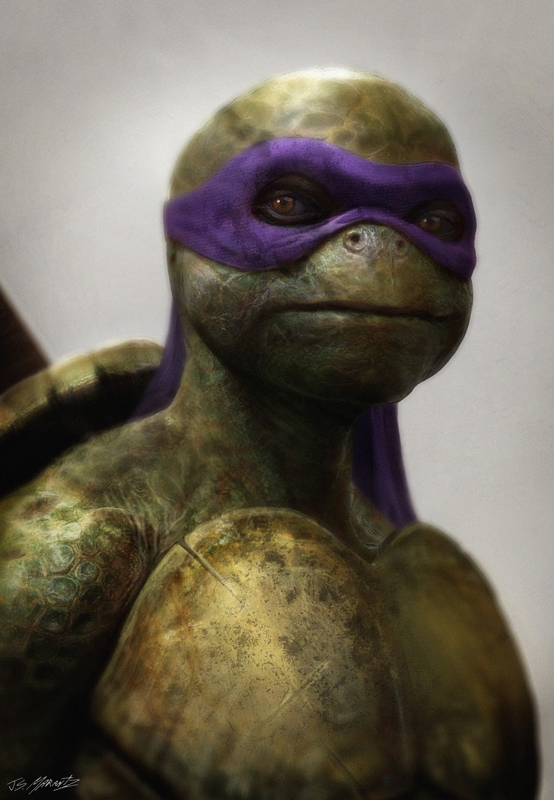 Teenage Mutant Ninja Turtles Concept Designs by Jerad Marantz