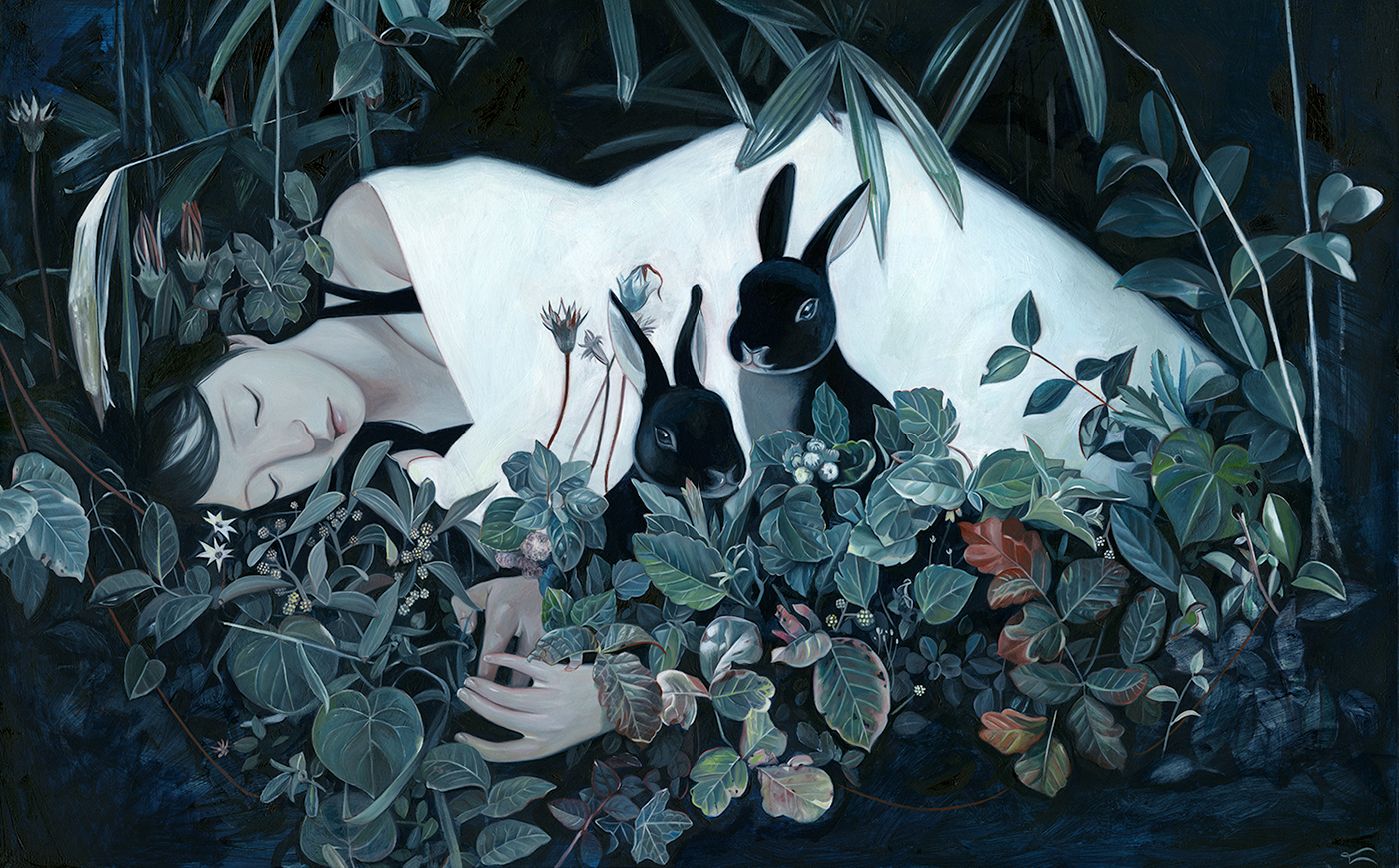 Soft and yet Mysterious Paintings by Joanne Nam (15 pics)