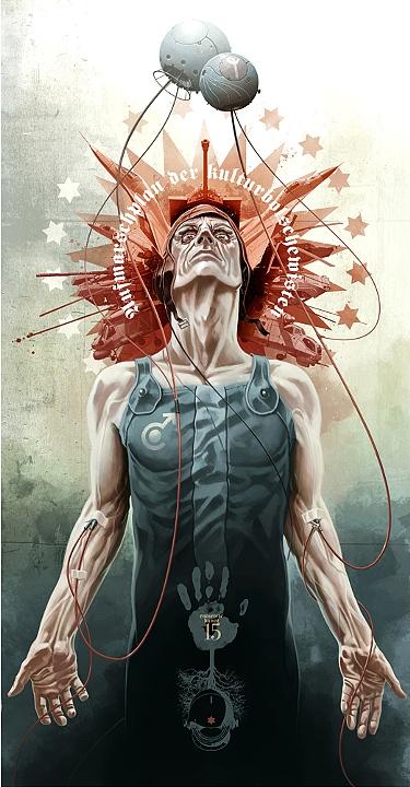 Entartete Kunst - Illustration - Derek Stenning