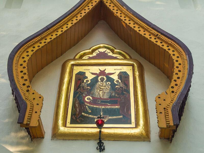 Заглавная икона Успенского монастыря.