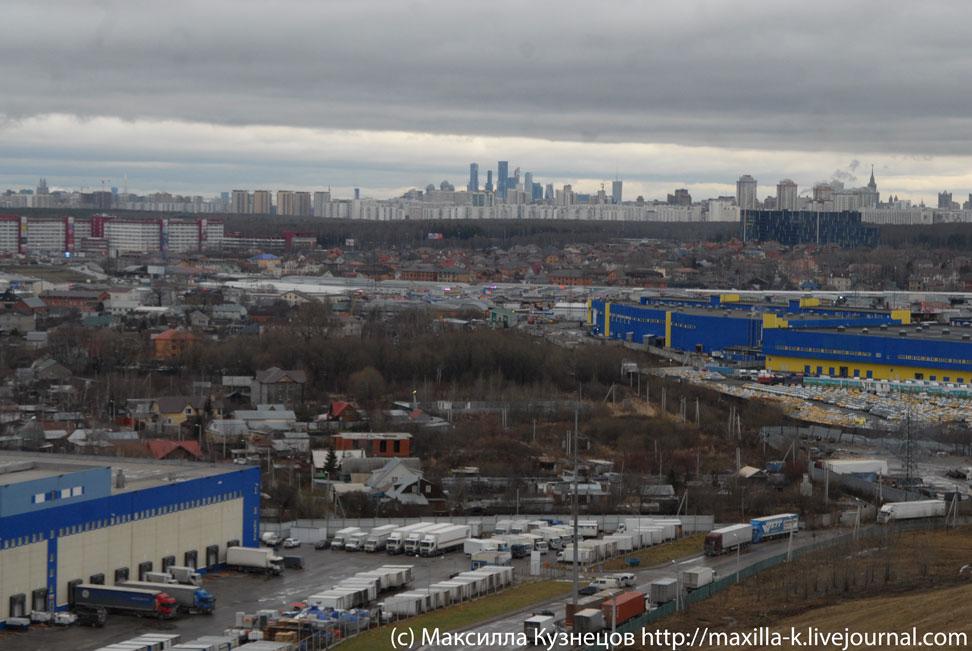 Вид на Москву