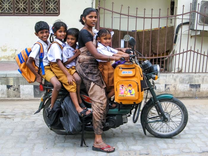 Индия обходит Китай в рейтинге мотоциклетных стран