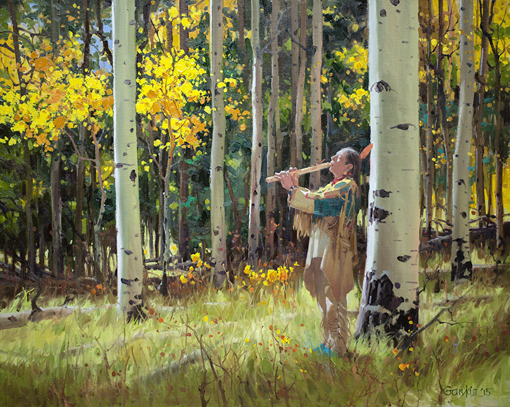 Gary Kim. Native Sound in the Forest (Родной звук в лесу)