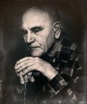 портрет слепого старика