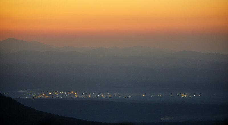 Черниговское на закате