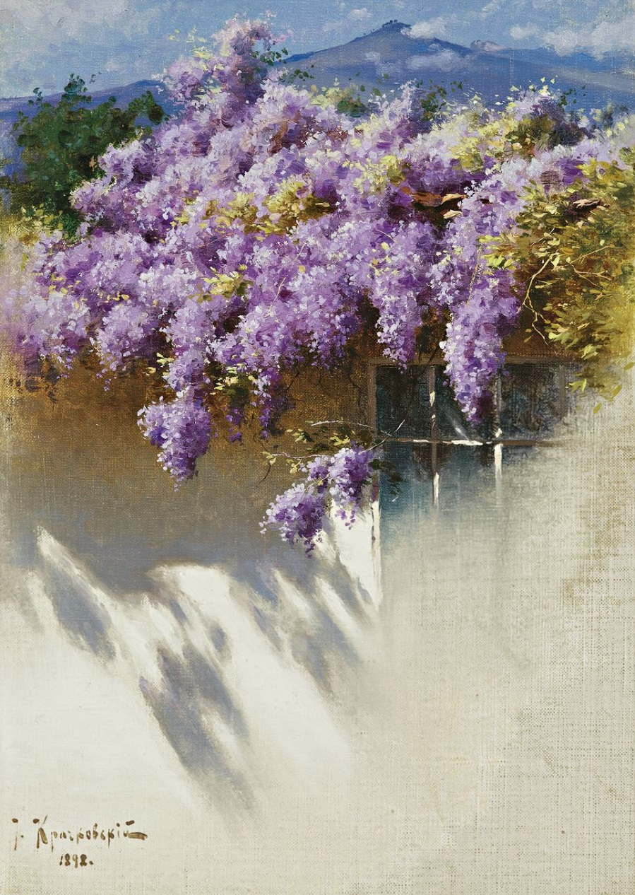 Wisteria in Bloom , 1898