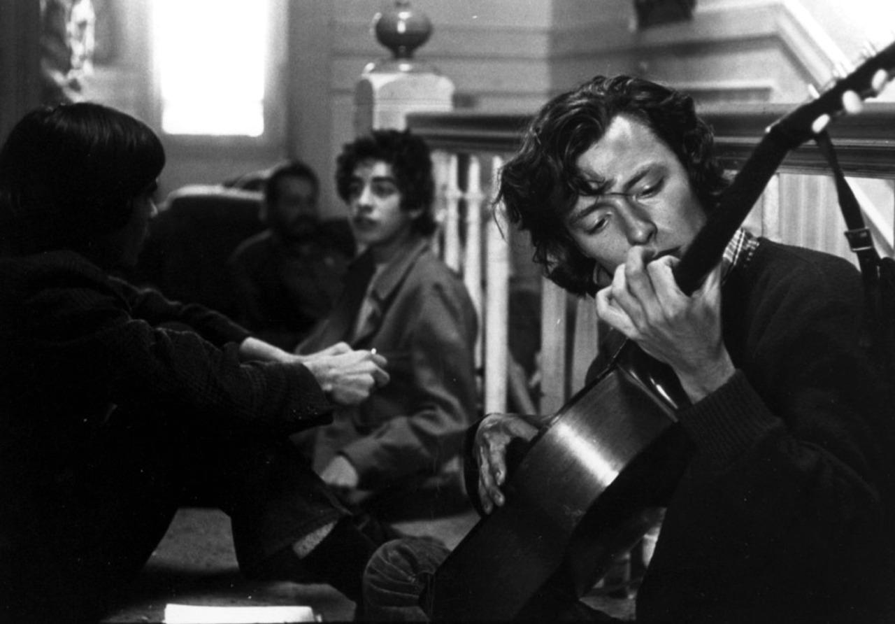1967. Уличные музыканты в Сан-Франциско