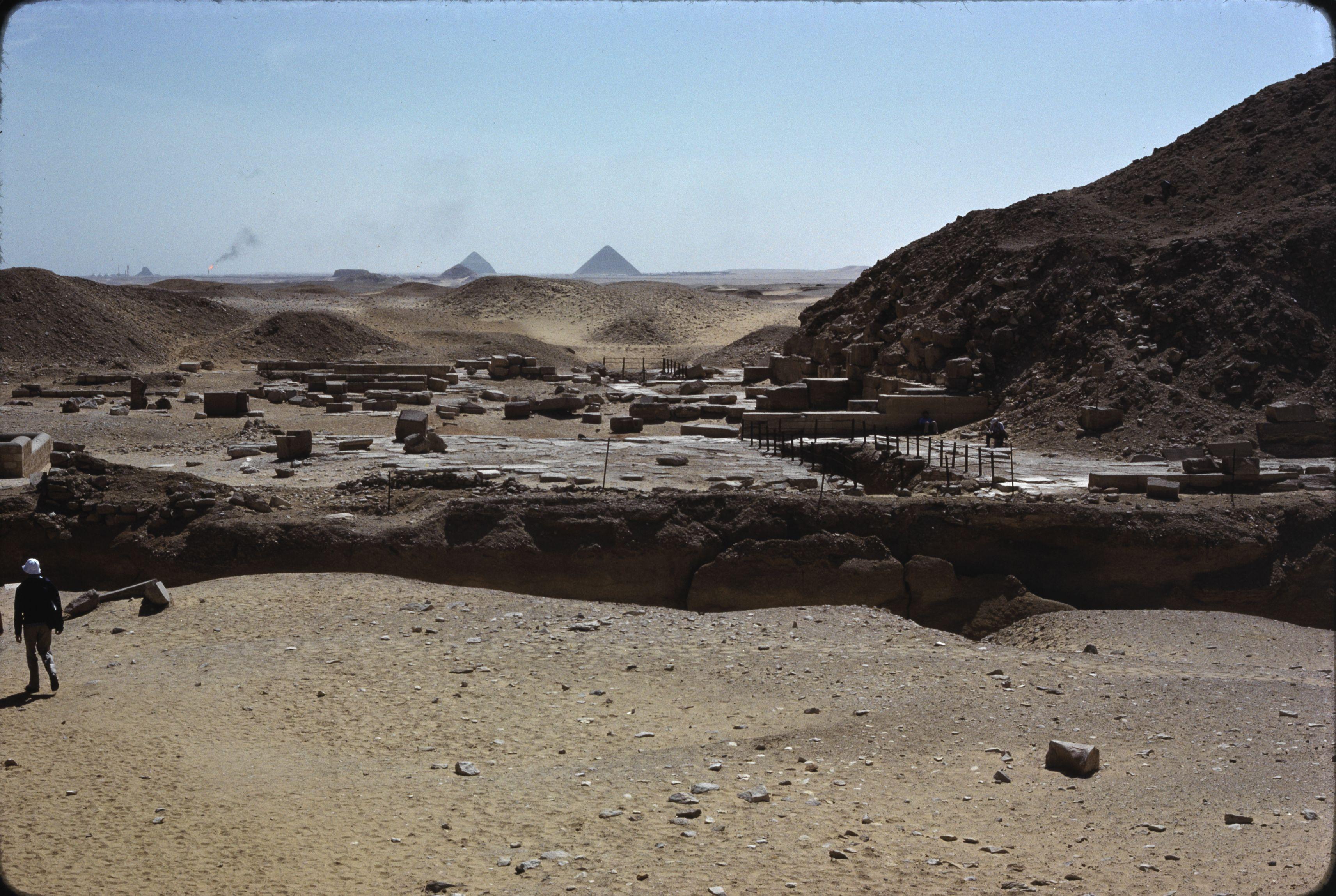 08. Саккара. Вид с пирамиды Джосера