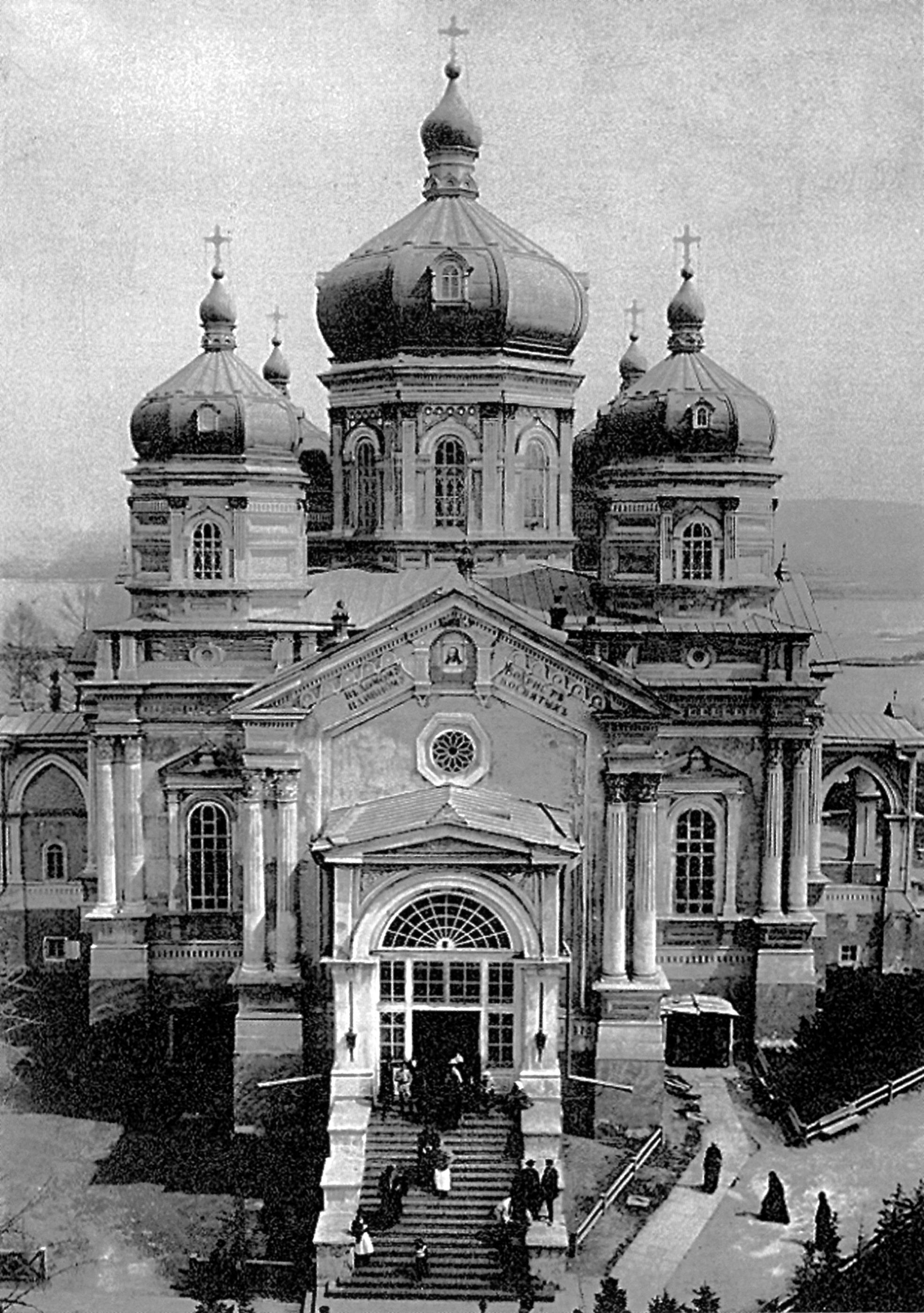 Вознесенский собор на территории Вознесенского монастыря Иркутска